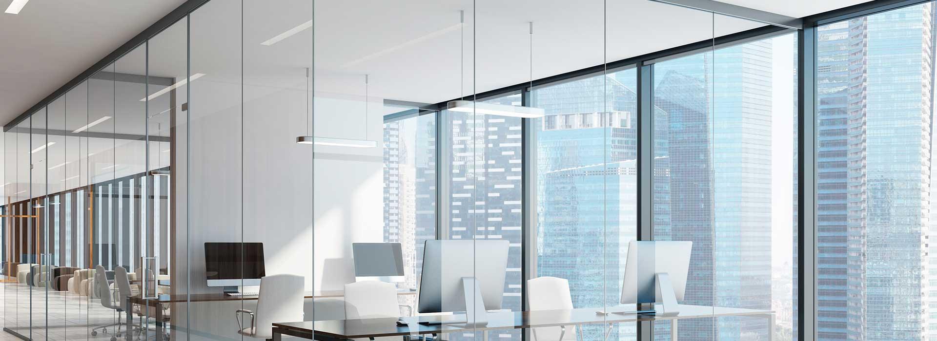 vidros comuns e temperados