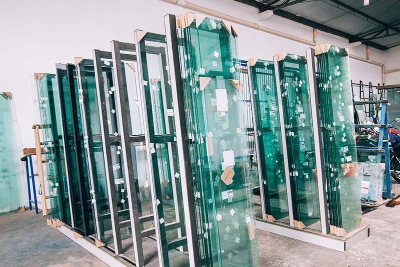 vidros temperados